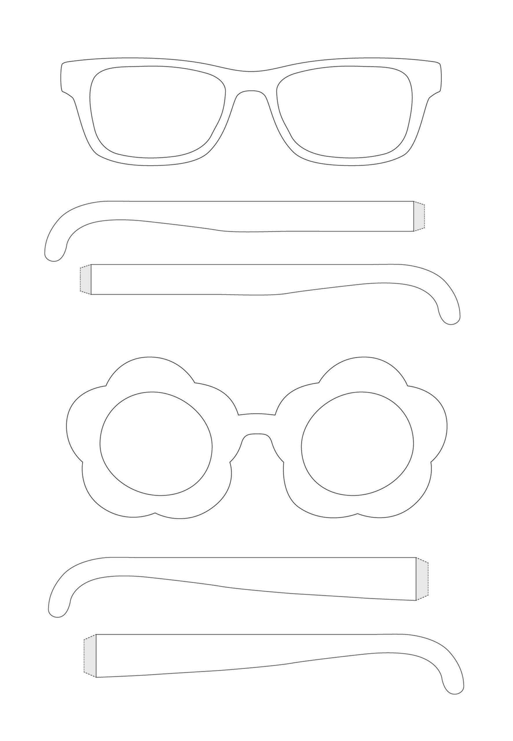 Brillen Bastelaktion Fur Gross Und Klein Brillen Wohlfart